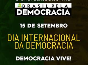 15 DE SETEMBRO É UMA DATA MUITO IMPORTANTE PARA A HUMANIDADE: DIA INTERNACIONAL DA DEMOCRACIA