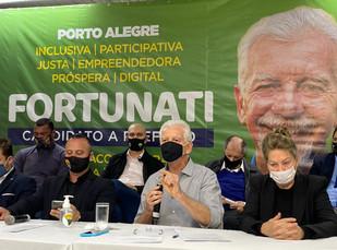 PTB OFICIALIZA CANDIDATURA DE JOSÉ FORTUNATI NA CORRIDA ELEITORAL RUMO À PREFEITURA DE PORTO ALEGRE