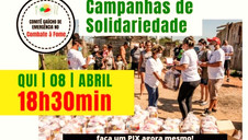 PRESTAÇÃO DE CONTAS: COMITÊ DE COMBATE À FOME REALIZA LIVE NESTA QUINTA (8/4), ÀS 18H30MIN