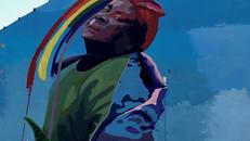 NUANCES 30 ANOS: GRUPO INAUGURA GRAFITE PARA HOMENAGEAR NEGA LU