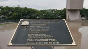 RIO DE JANEIRO INAUGURA MEMORIAL ÀS VÍTIMAS DO HOLOCAUSTO, NO MORRO DO PASMADO, EM BOTAFOGO