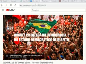 """AO VIVO AGORA: """"ECONOMIA DO RS-VISÃO HISTÓRICA E PERSPECTIVAS"""""""