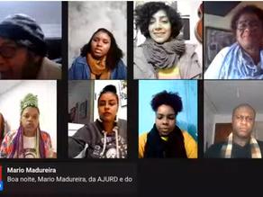 AO VIVO: COMITÊ PROMOVE DEBATE SOBRE RACISMO E SLAM NA ATIVIDADE NACIONAL DA VIRADA PELA DEMOCRACIA