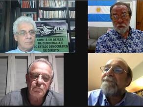 BRASIL DE FATO / RS PUBLICA MATÉRIA SOBRE DEBATE PROMOVIDO PELO COMITÊ COM  TARSO E NICOLELIS