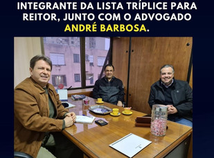 DEPUTADO BIBO NUNES ANUNCIA BULHÕES COMO NOVO REITOR DA UFRGS, POR DECISÃO DO PRESIDENTE BOLSONARO