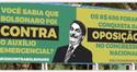 GAÚCHOS DE IJUÍ FORAM IMPEDIDOS DE EXIBIR OUTDOOR CONTRA BOLSONARO E RECORRERAM AO PROTESTO VIRTUAL