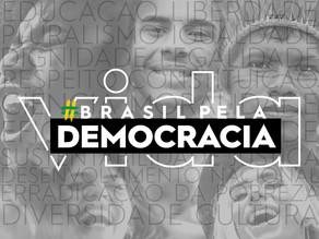 MOVIMENTO BRASIL PELA DEMOCRACIA JÁ TEM APOIO E PARTICIPAÇÃO DE MAIS DE 180 ENTIDADES EM TODO O PAÍS