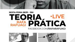 BOAVENTURA E SUPLICY PARTICIPAM DE DEBATE PROMOVIDO POR RAFA RAFUAGI, SEXTA (8/1), ÀS 19 HORAS