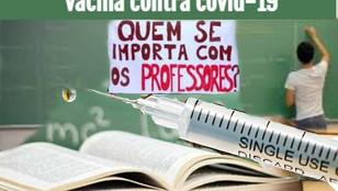 GOVERNO FEDERAL INCLUI TRABALHADORES DA EDUCAÇÃO NO GRUPO PRIORITÁRIO DE VACINAÇÃO CONTRA A COVID-19