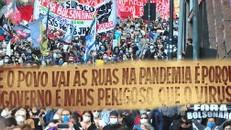PORTO ALEGRE TERÁ MANIFESTAÇÃO PELO IMPEACHMENT DE BOLSONARO, NO FINAL DA TARDE DESTA TERÇA (13/7)