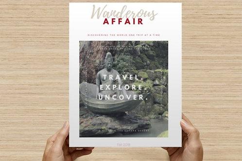 Wanderous Affair: Volume 1, Issue 3 (digital download)