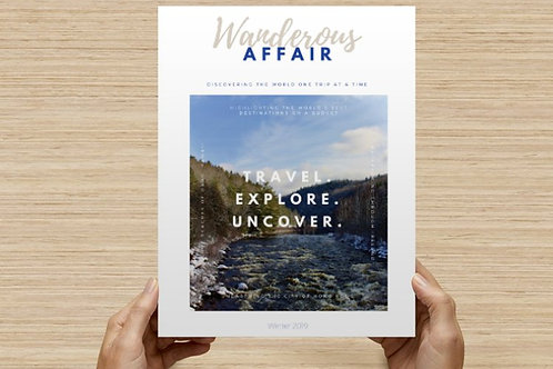 Wanderous Affair: Volume 2, Issue 4 (digital download)