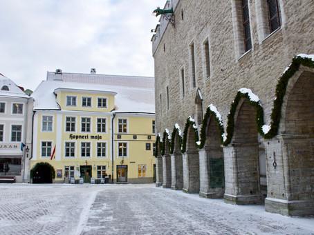 A Snowy Day Trip to Estonia's Old Tallinn