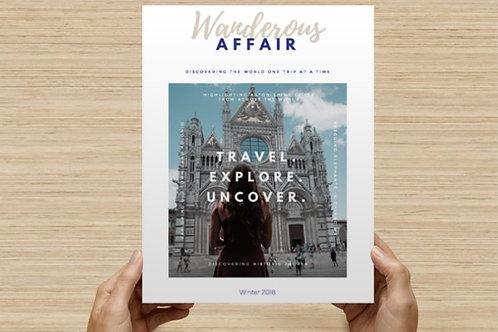 Wanderous Affair: Volume 1, Issue 4 (digital download)