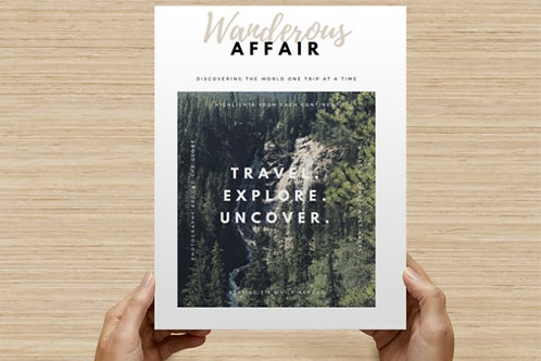 Wanderous Affair: Volume 1, Issue 1 (digital download)