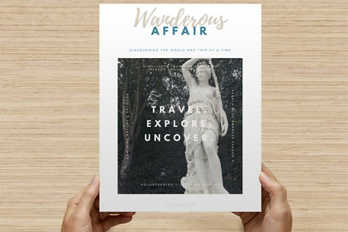 Wanderous Affair: Volume 1, Issue 2 (digital download)