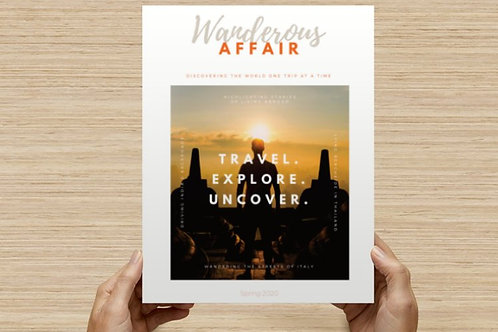 Wanderous Affair: Volume 3, Issue 1 (digital download)