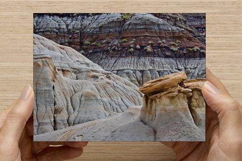 Drumheller's Hoodoos Trail (Canada) Postcard