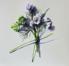 Votive Offering No.99 Salad Blue Potato with Fennel and Chive