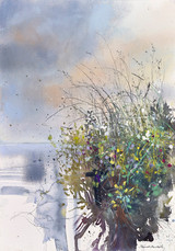 Grasses and Wild Flowers by the Loch