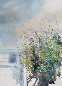 Grasses and Wildfowers by the Loch