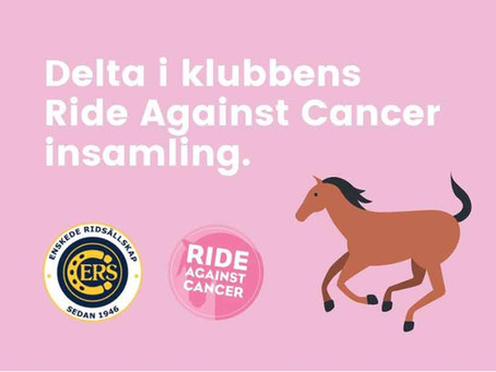 Ride Against Cancer insamling