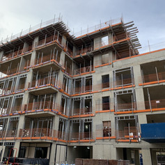 SFS installed on the first block on our project on Bath Road for Higgins Construction.