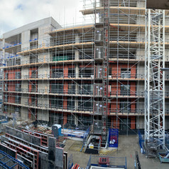 External SFS and Sheating Board works on our Project at Blackhorse Point for Barratt London.
