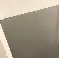 Resin floor solutions applied at our previous office.