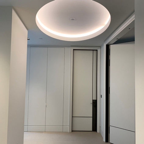 Unsual coffer detail on our project in Regents Park for Red Construction.