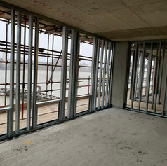 SFS installed on our project in Woolwich for Higgins Construction.