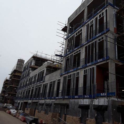 SFS installed on our project in Peckham for Higgins Construciton.