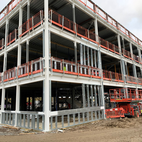 SFS installed on our project in Milton Keynes for Graham Construction.