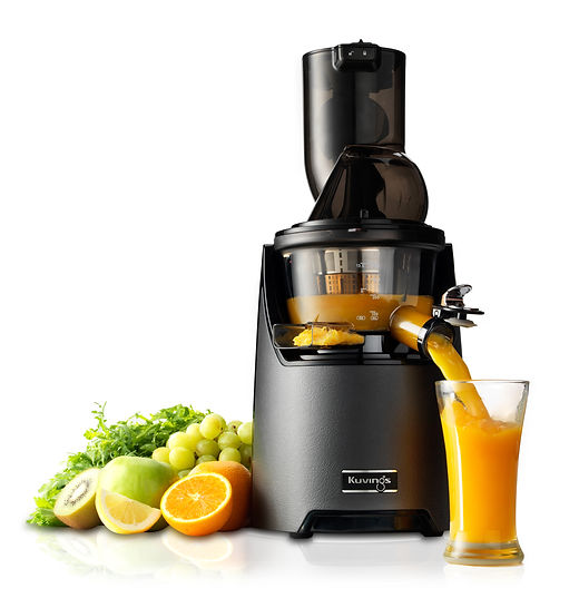 Kuvings_Whole Slow Juicer_EVO820_Silver_