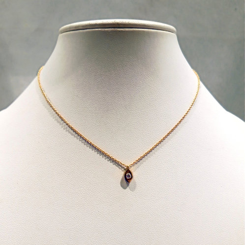 Collier or jaune 18 carats