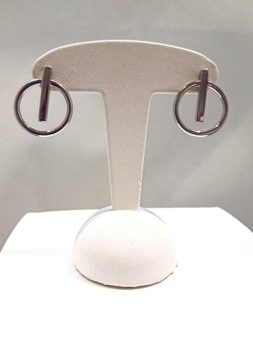 Boucles d'oreilles acier