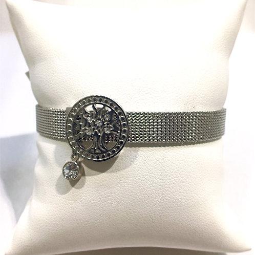 Bracelet esclave acier