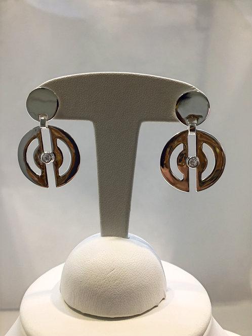 Boucles d'oreille argent collection SpaceOn