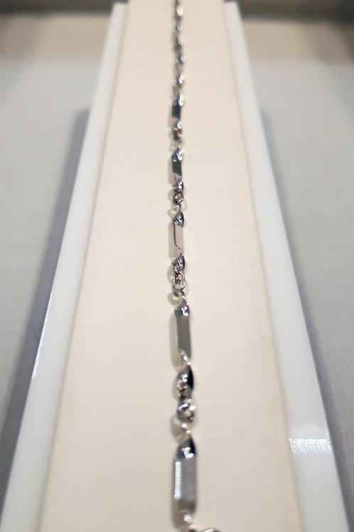 Bracelet Or Blanc 18 Carats