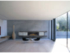 Residential living room fireplace surround by Atelier Morrissette.