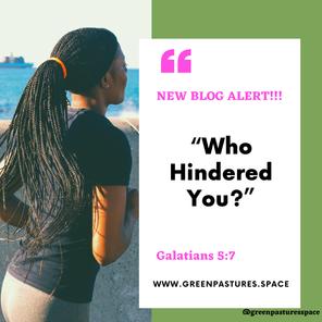 Galatians 5:7