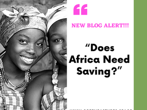 Does Africa Need Saving?