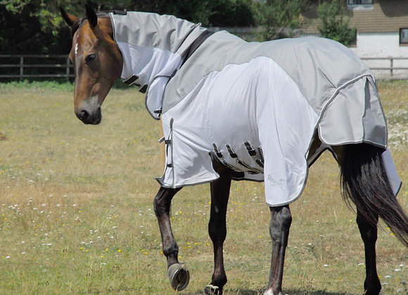 Rhinegold Zambia Full Neck Outdoor/Fly Rug With Waterproof Topline And Side Skir