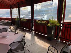Fall arrangement for Davio's restaurant