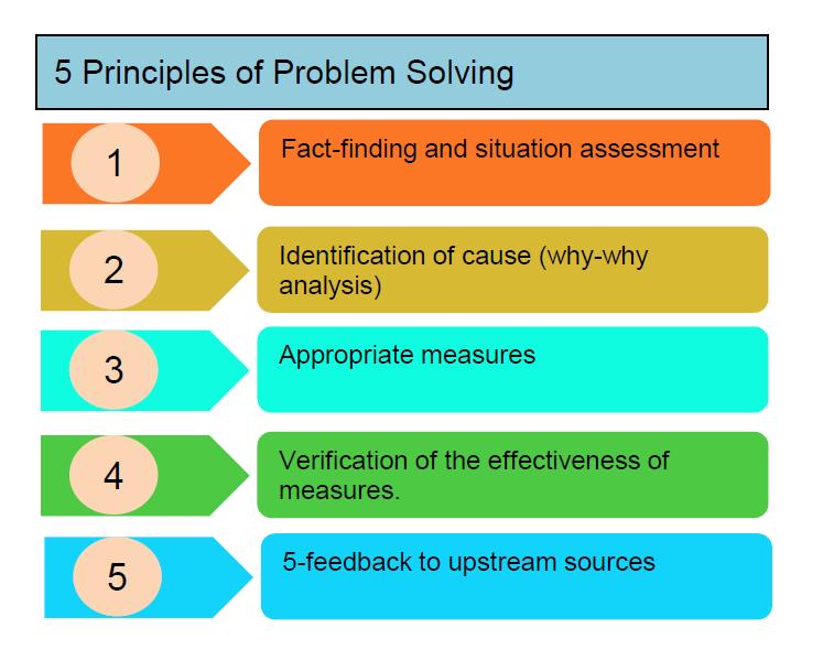 5 Principals for Problem Solving