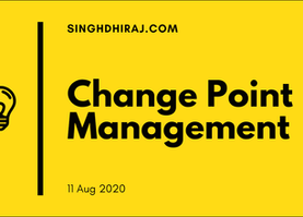 Change point management