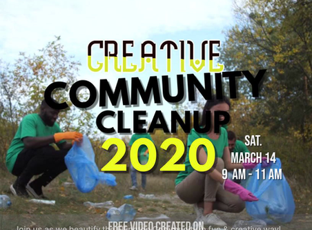 Join Us for our Creative Community Clean Up