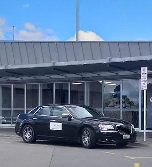 Chrysler car at Marlborough Airport