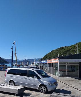Mercedes outside Beachcomber Cruises.jpg