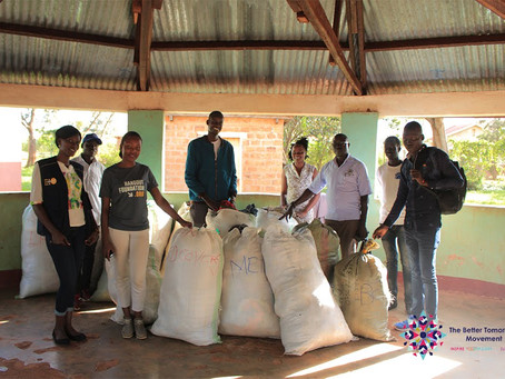 Donations as an outreach to crisis communities in Uganda